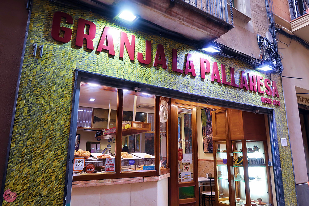 Where to have Churros in Barcelona? Granja La Pallaresa