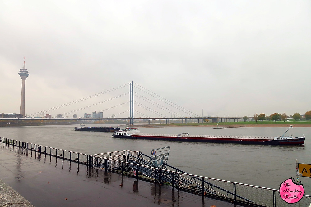 Rhine Embankment, Dusseldorf, Germany