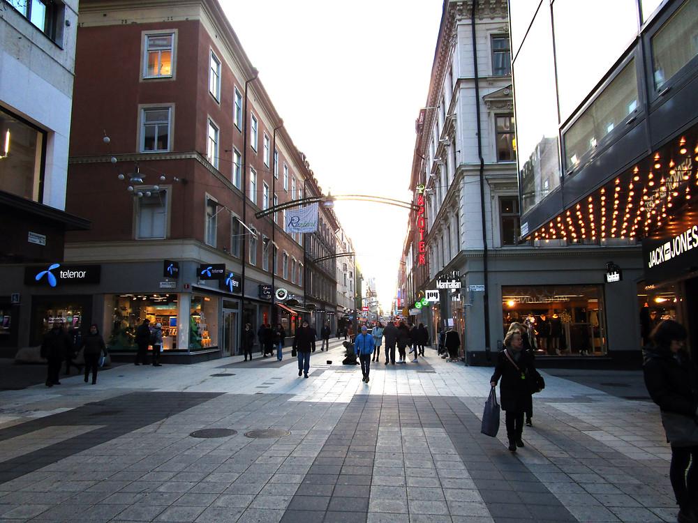 Drottninggatan shopping street