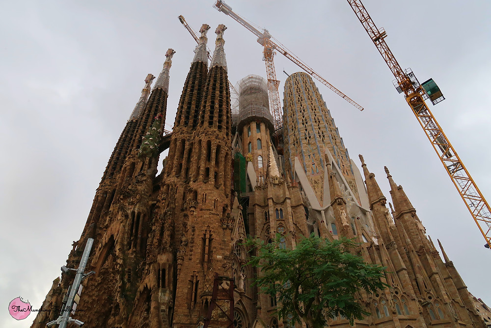 Sagrada Familia in 2018