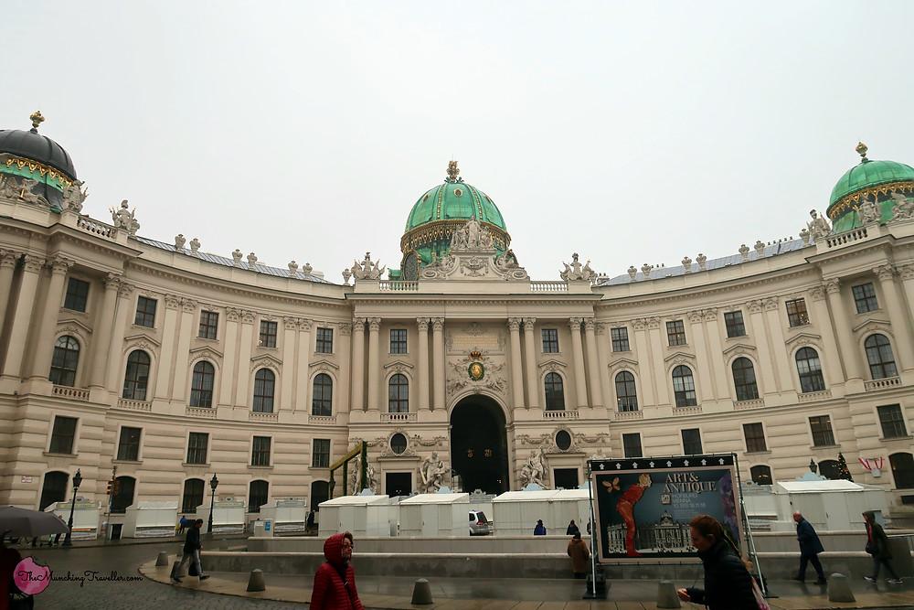The Hoftburg, Vienna, Austria