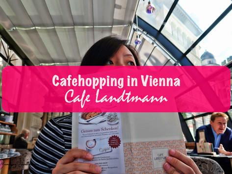 Cafehopping in Vienna: Cafe Landtmann