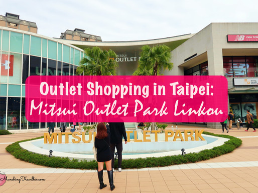 Outlet Shopping in Taipei: Mitsui Outlet Park