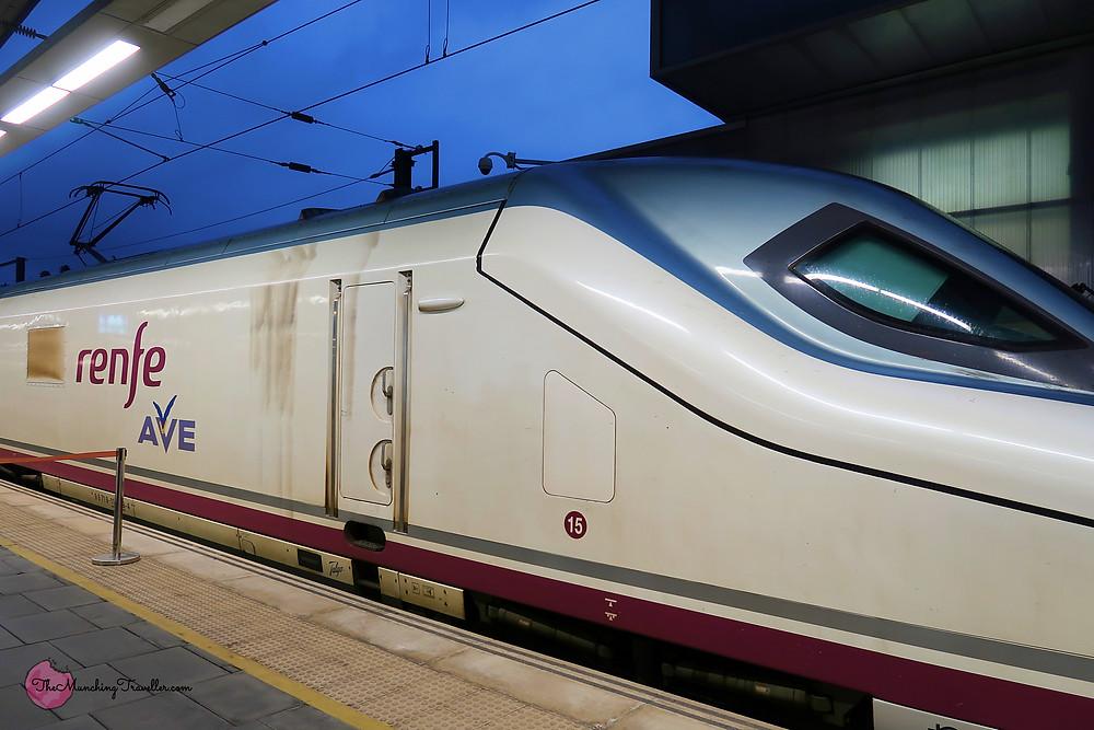 Train Travels in Spain