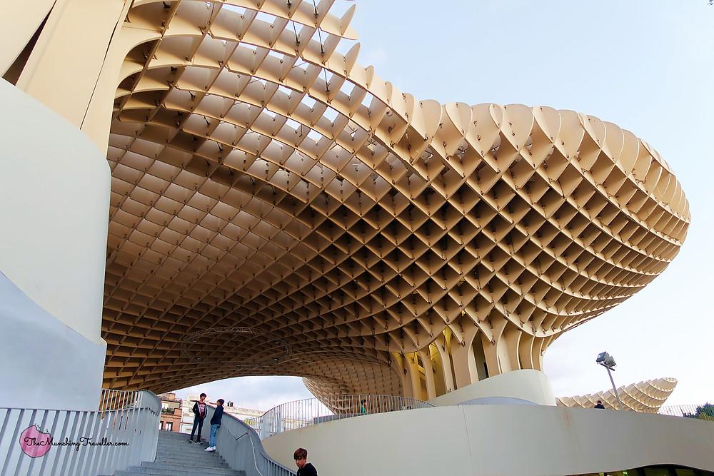 Las Setas De Sevilla - Metropol Parasol, Seville, Spain