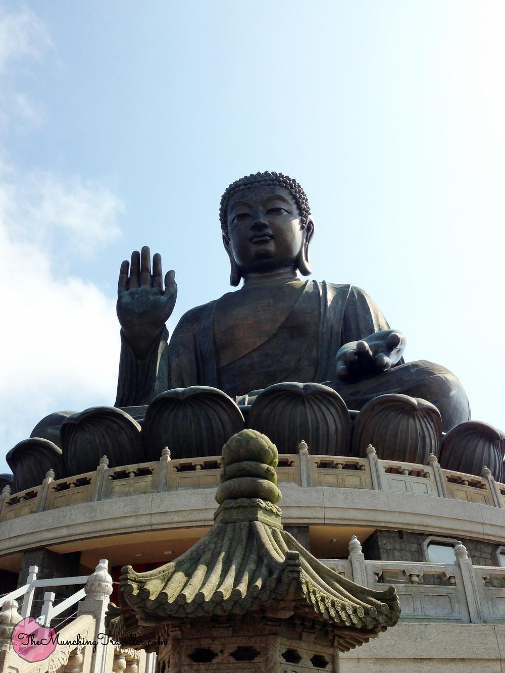 Big Buddha and Po Lin Monastery, Lantau Island, Hong Kong