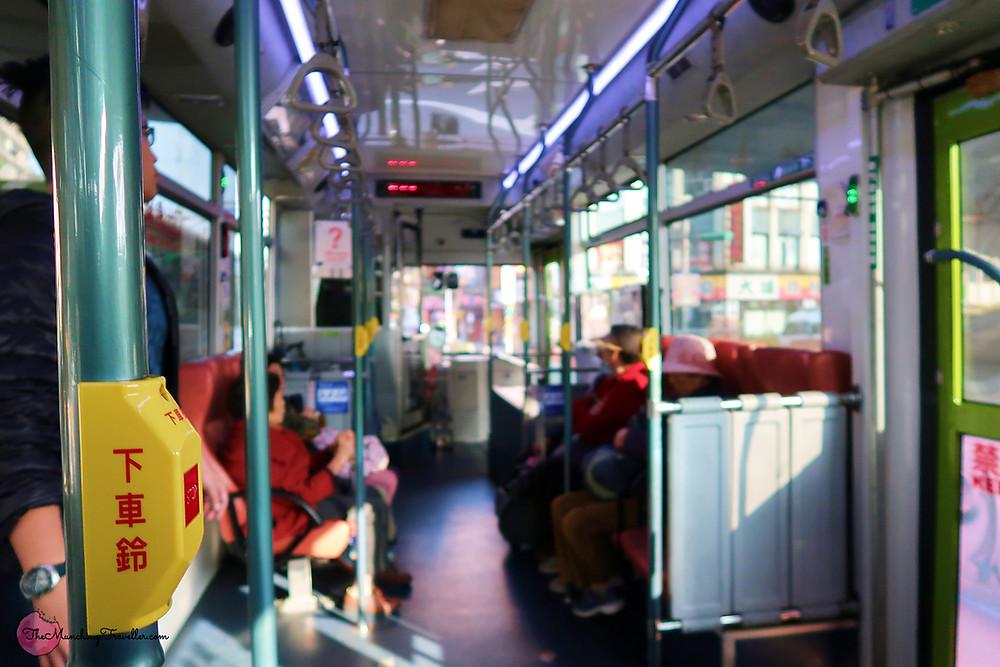 Taipei Buses to Yangmingshan National Park, Taipei, Taiwan