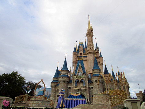 The most magical place on earth! Disneyworld Magic Kingdom, Orlando, United States of America