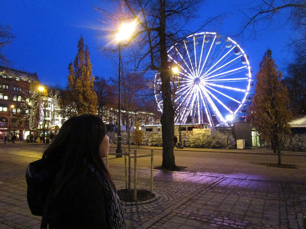 Ferris Wheel at the Christmas Market