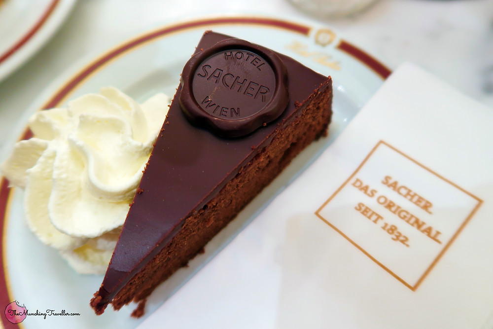 Sachertorte at Cafe Sacher Wien
