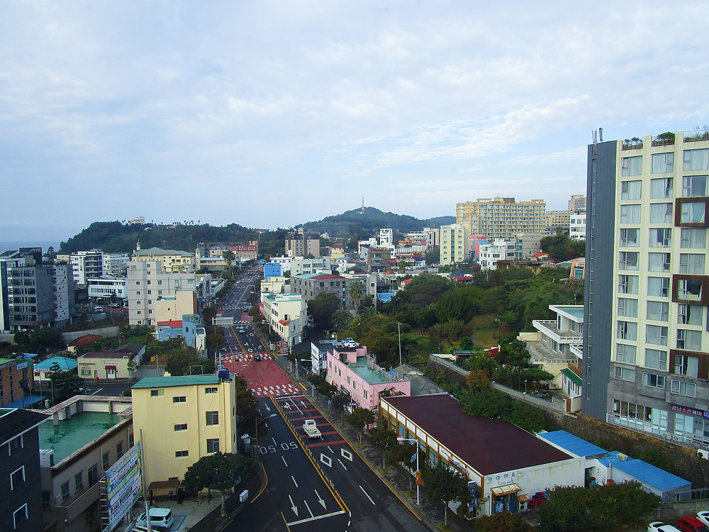 View from Eins Hotel Seogwipo