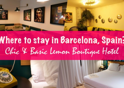 Hotel Review: Chic and Basic Lemon Boutique Hotel in Barcelona, Spain