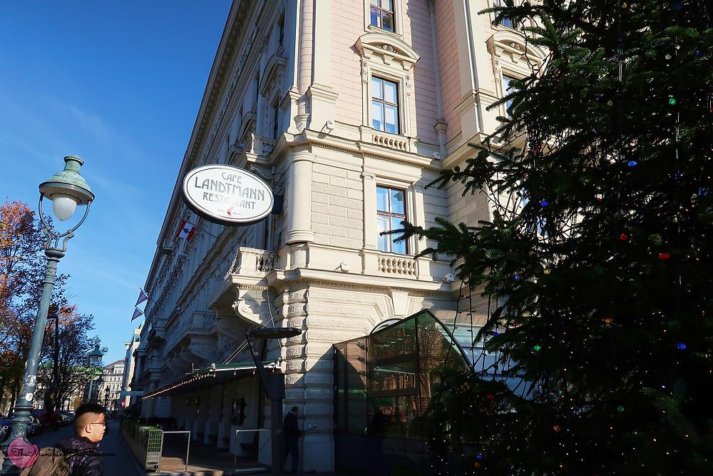 Cafe Landtmann, Vienna, Austria