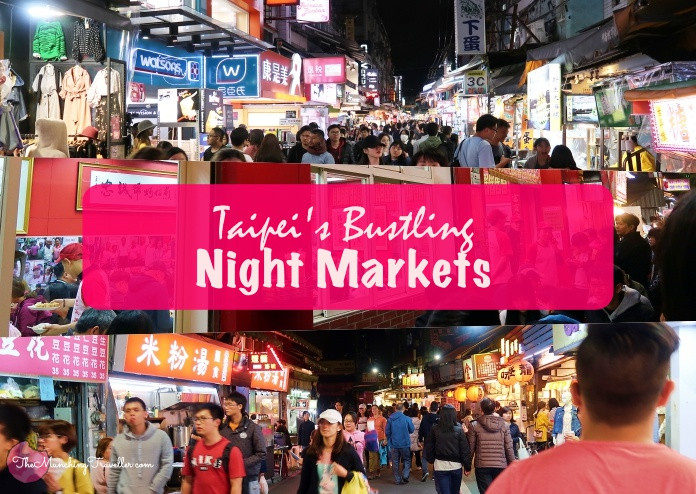 Taiwanese Night Markets, Taipei, Taiwan