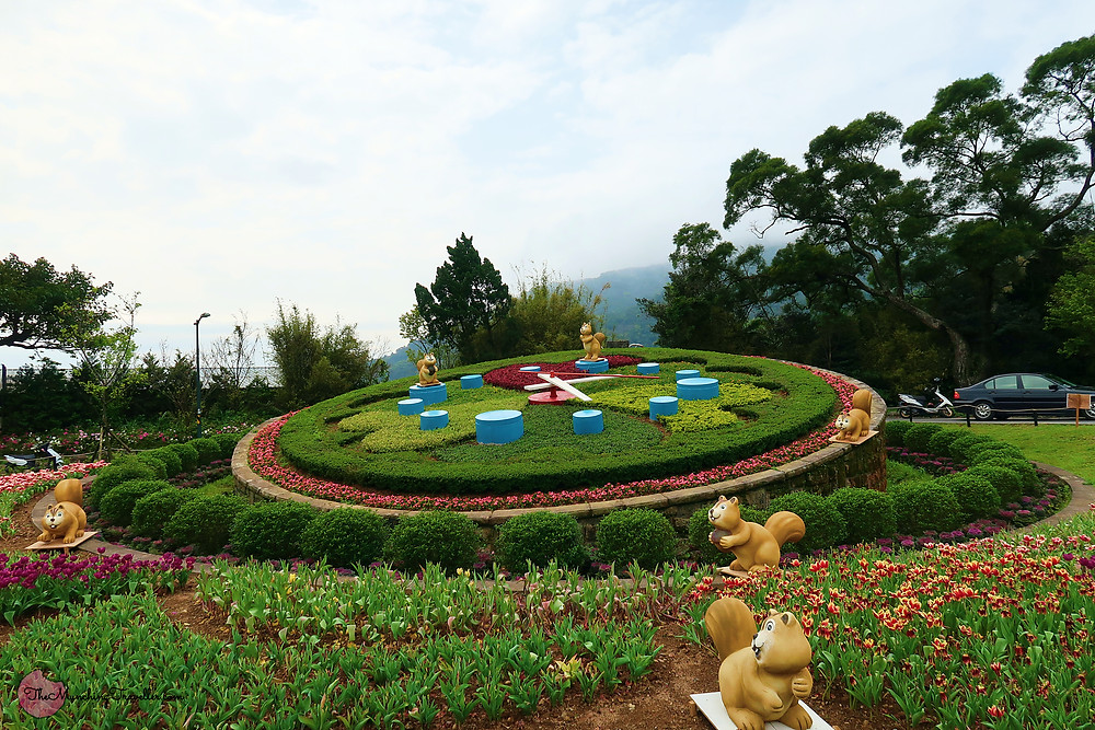 Flower Clock, Yangmingshan National Park, Taipei, Taiwan