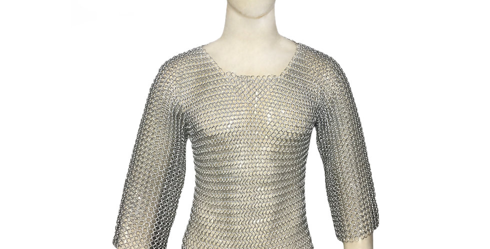 Chainmail Full Sleeve T-shirt | 10mm butted | MS