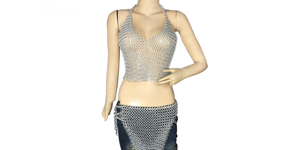 Chainmail Skirt & Top