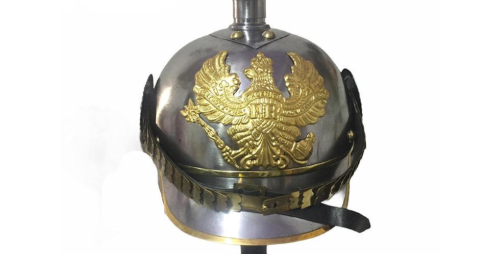 German Helmet | Pickelhaube Helmet | FR Badge