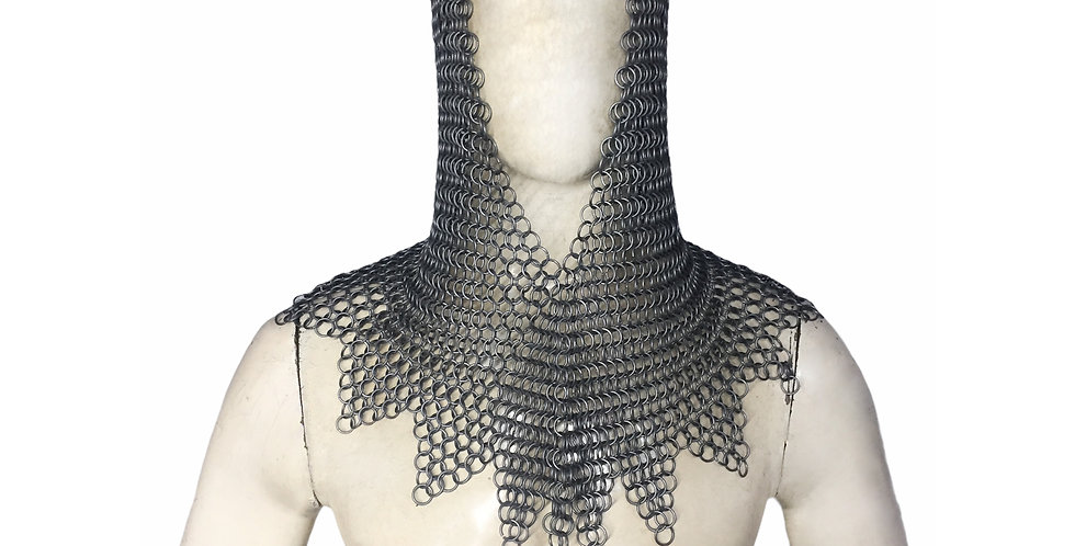 Chainmail ZigZag Hood | Butted