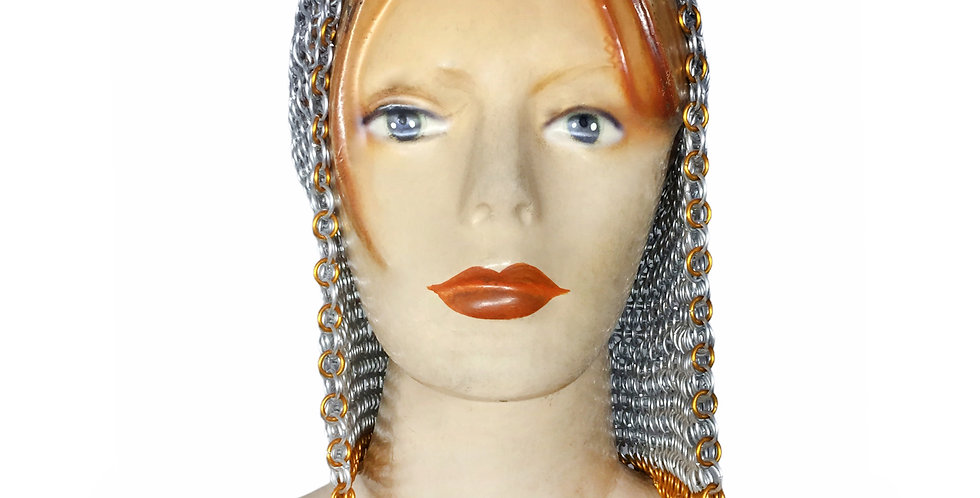 Chainmail Open Face Hood