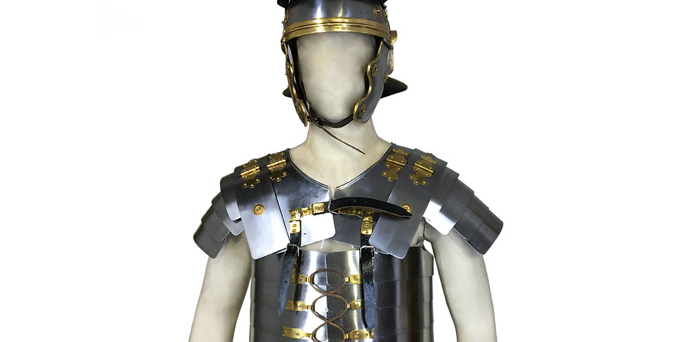 Roman Lorica Segmentata with Helmet | Body Armour