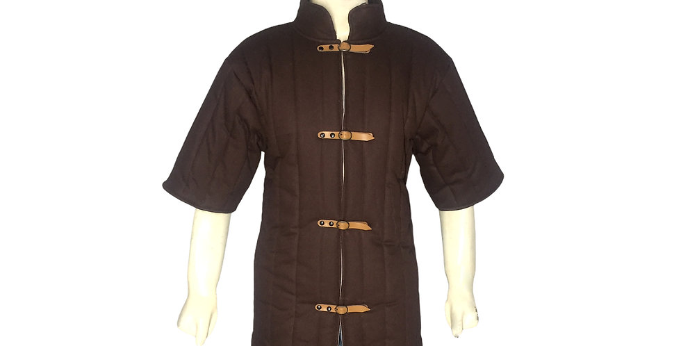 Brown Color Gambeson