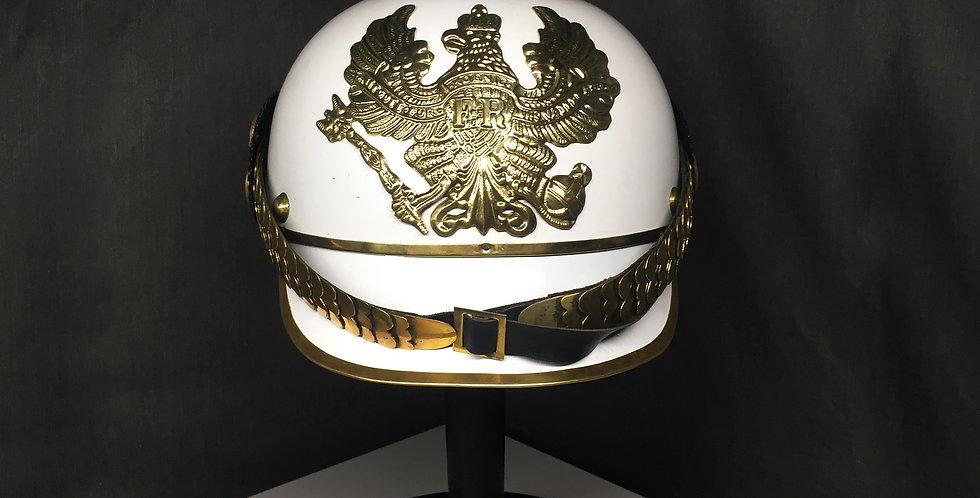 German white Helmet | Pickelhaube Helmet