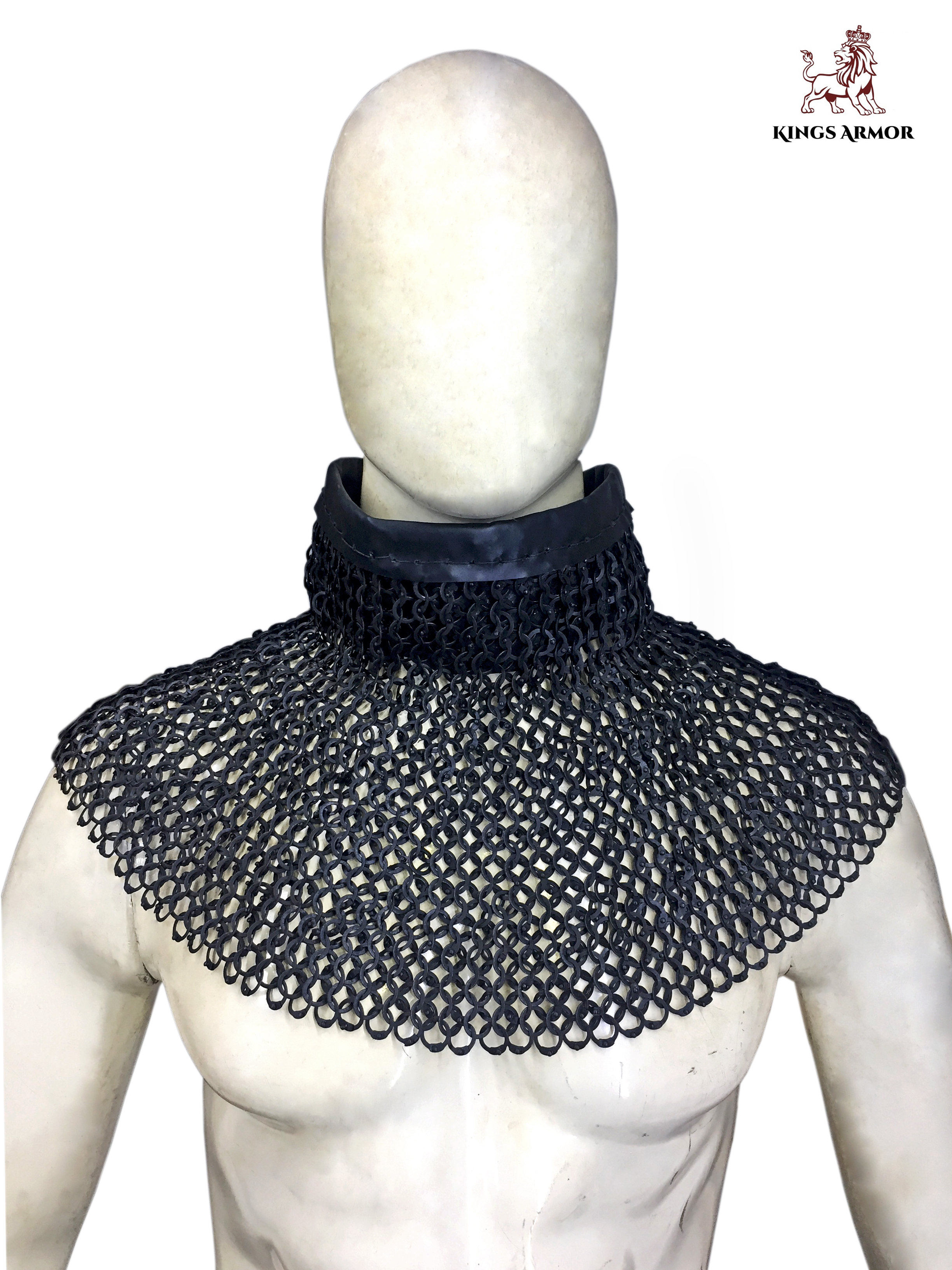 Round Chainmail Hood (front)
