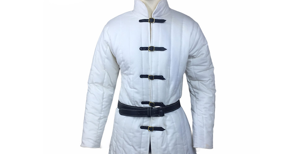 White color gambeson