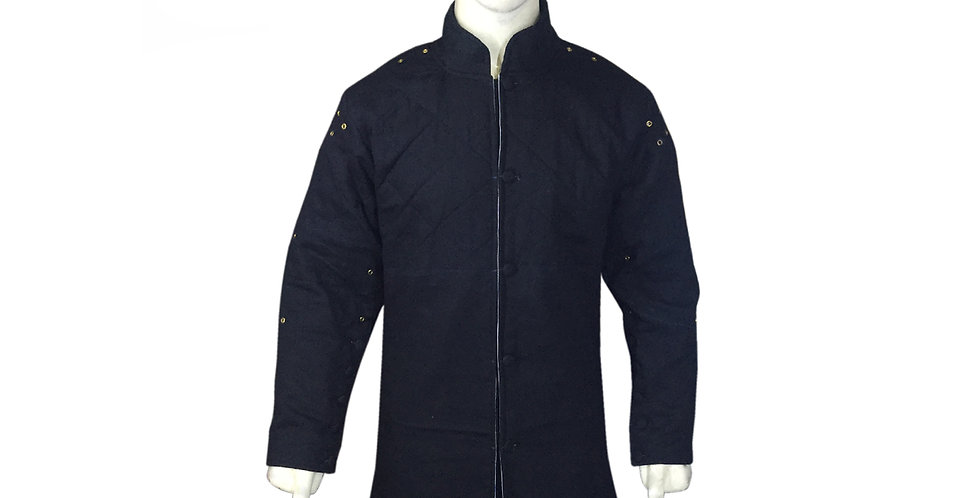 Dark Blue color Gambeson