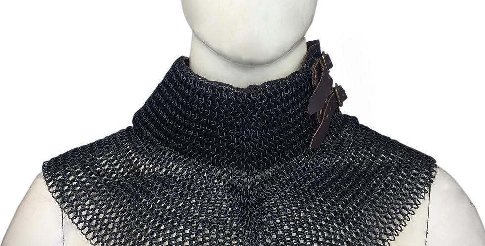 Black Chainmail Collar