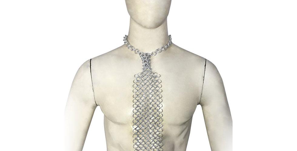 Chainmail Tie   Aluminum
