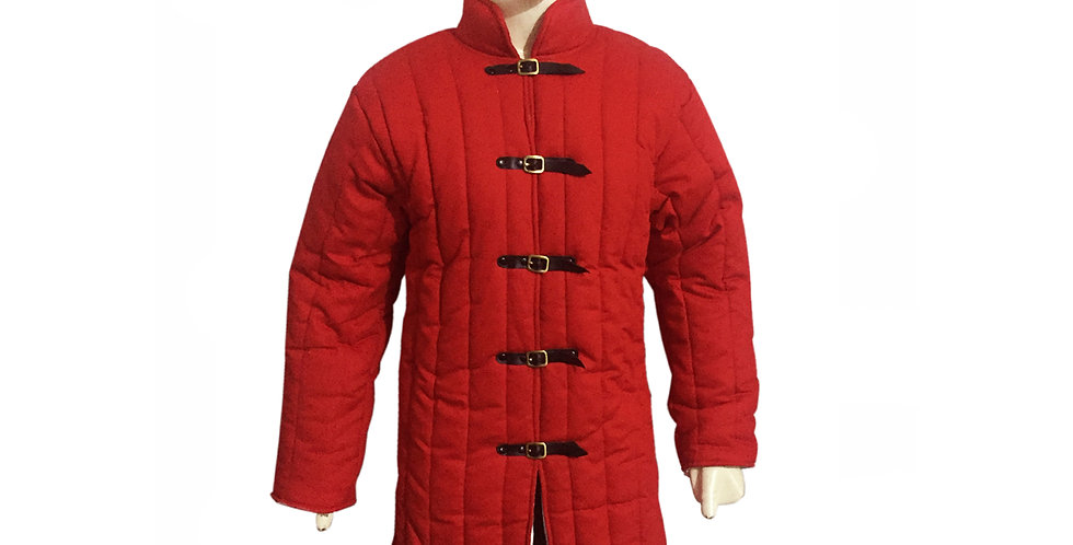 Red Medieval Gambeson