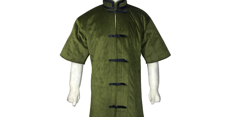 Green Color gambeson
