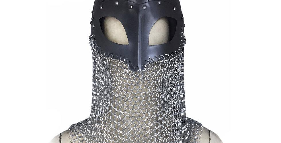 Viking Helmet | with aluminum Chainmail
