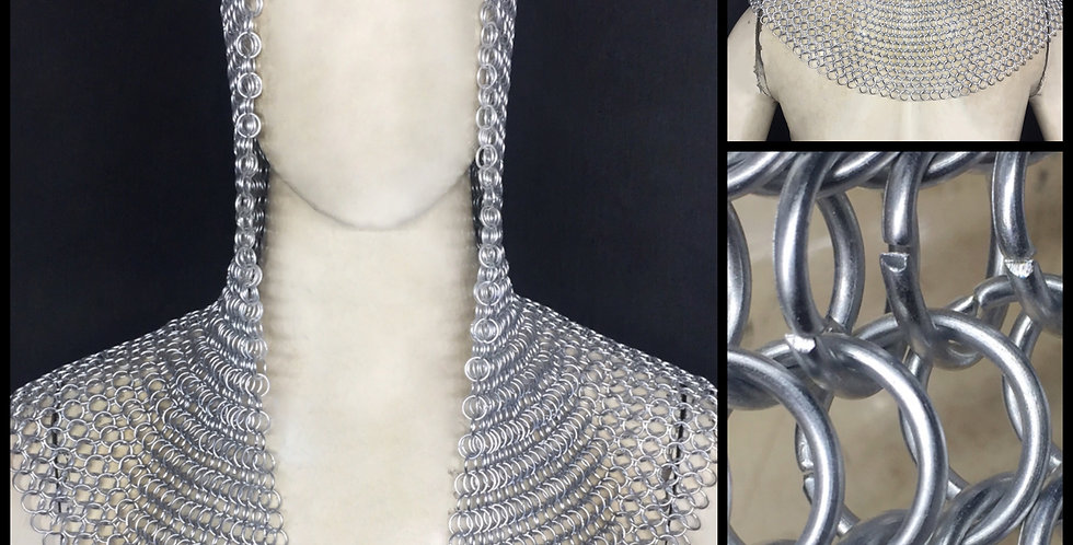 Chainmail Hood | Aluminum Butted Ring