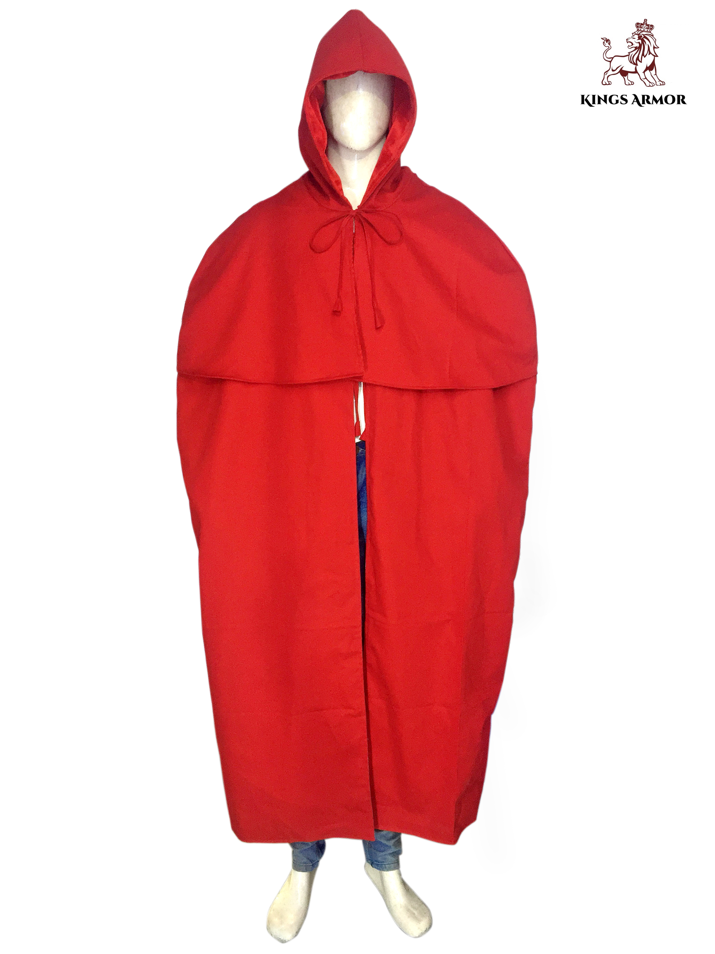 Red Cloak with Hood