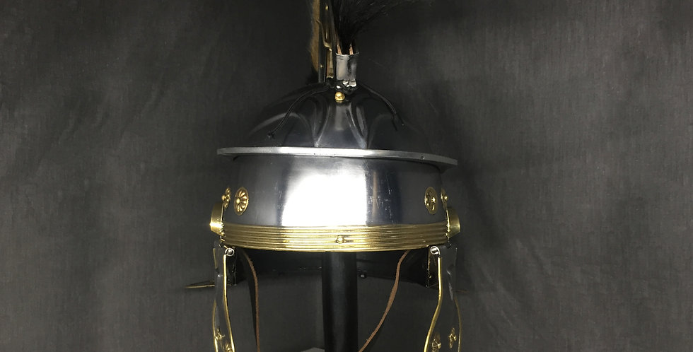 Viking Helmet | Plume attached