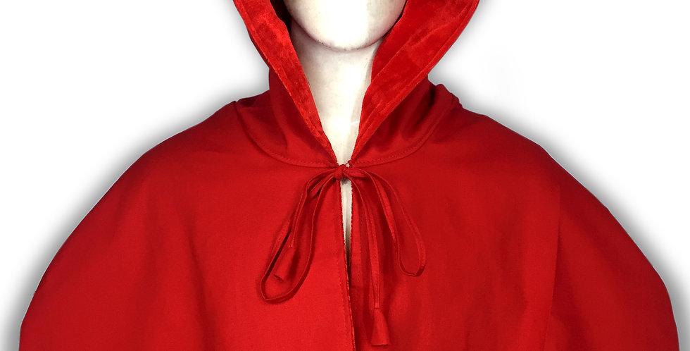 Red Cloak Hood