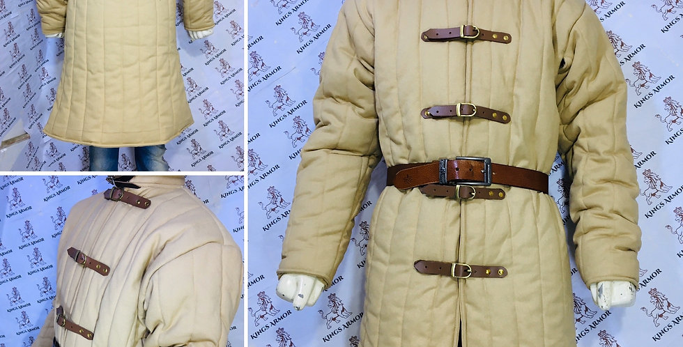 Medival Padded Armor |  Gambeson| Size - S to 3XL | 100% Pure Cotton.