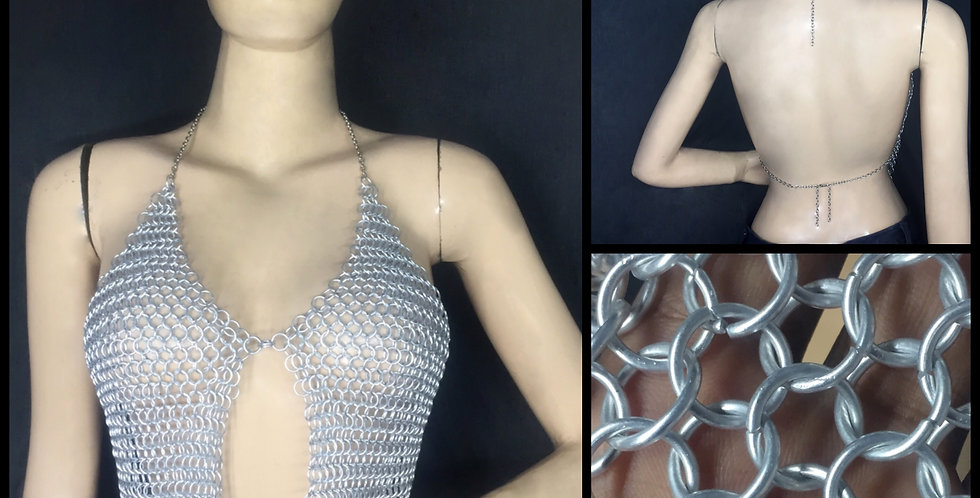 Chainmail Halter | Aluminum | Butted