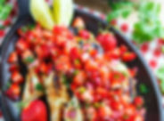 CilantroLimeGrilledChickenwithStrawberry
