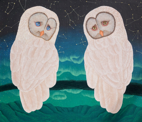 영혼의짝과함께아름다운풍경을_acrylics on canvas_455x53