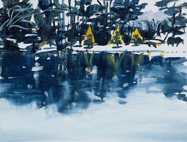 2『Snow』 oil on paper 19x25 cm 2021.jpg