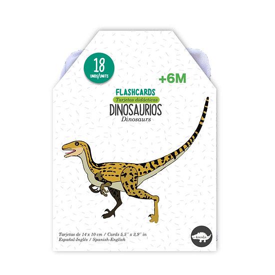 Flash Cards Dinosaurios