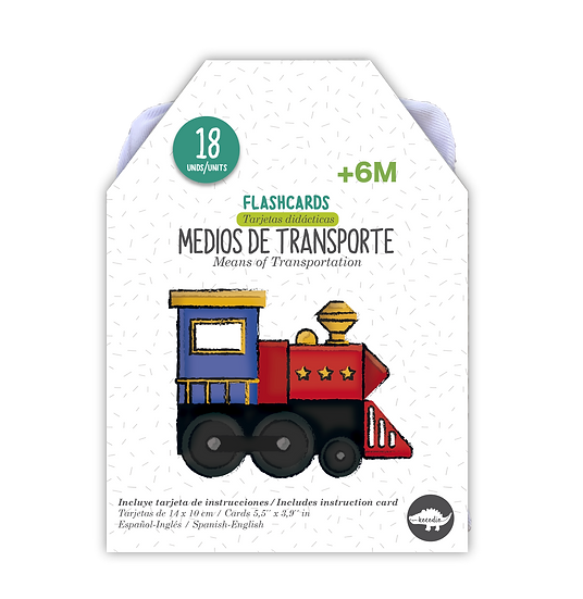Flash Cards Medios de Transporte