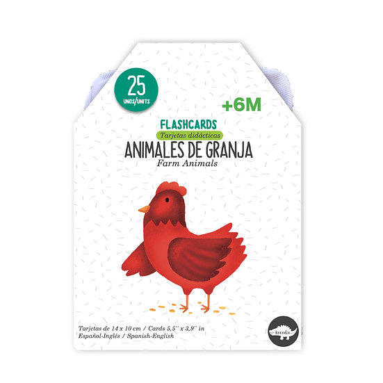 Flash Cards Animales de Granja