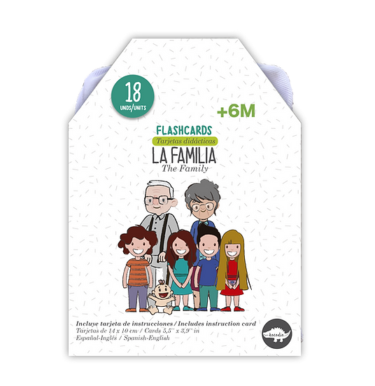 Flash Cards La Familia