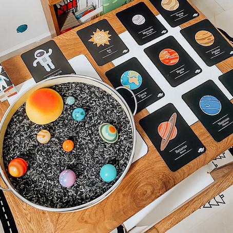 Conociendo el sistema solar.