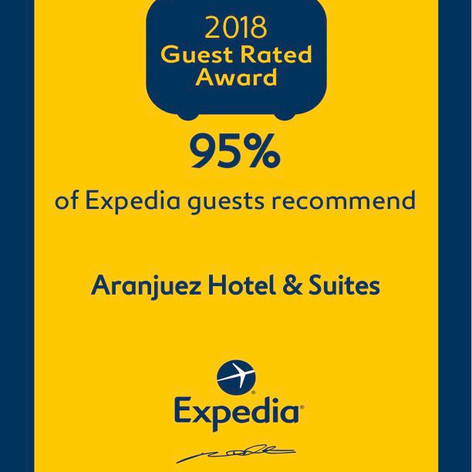 Recommended by Expedia 2018